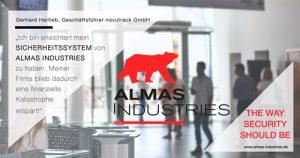 Ein Zufriedener Kunde von Almas Industries