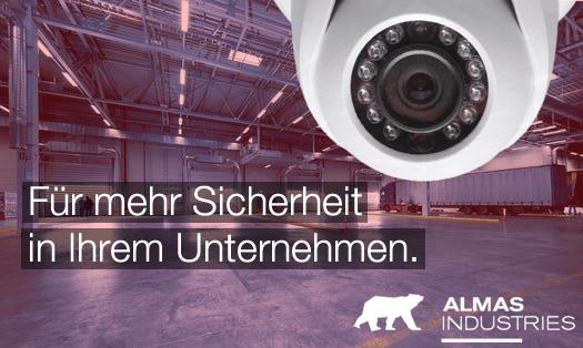 Die ALMAS INDUSTRIES AG beantwortet die häufigsten und wichtigsten Fragen zum Thema Einbruchschutz und Fernüberwachung.